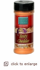 Zesty Cheddar Cheese Seasoning 5oz.