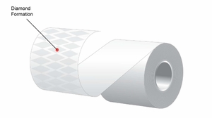 "2.25"" x 170'  MAXStick 21# Direct Thermal ""Sticky Paper"" (32 rolls/case) - Diamond Adhesive"