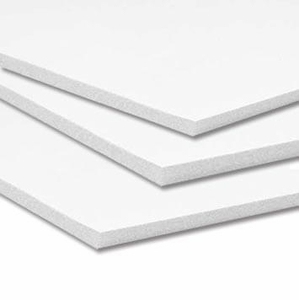 "20"" x 30"" Self Adhesvie White Foam Board- 3/16"" (10 boards per case)"