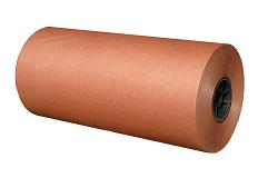 "24"" X 1000' Red Colored Butcher Paper Roll"