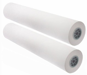 "24"" x 500' - 20# Engineering Copy Bond Paper, 3"" Core (2 rolls/carton) - 92 Bright"