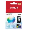 Canon 2975B001 (CL-211XL) High-Yield Ink, 349 Page-Yield - Tri-Color