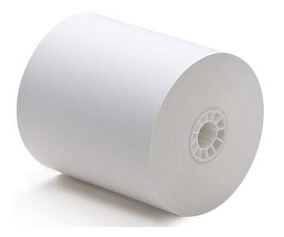 """3 1/8"""" x 119'  (80mm x 36m)  Thermal Seconds Paper (50 rolls/case)  <font color=red>*Clearance Item*</font>"""