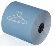 "3 1/8"" x 165' Dry Cleaning Heavy Thermal Paper (Blue) (50 Rolls)"