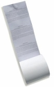 "3 1/8"" x 165' Dry Cleaning Heavy Thermal Paper (White) (50 Rolls)"