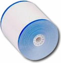 "3 1/8"" x 165' w/ Blue Stripe Thermal Paper (50 Rolls)"