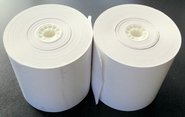 "3-1/8"" x 220' Seconds Thermal Paper 50 Rolls/case"