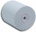 "3 1/8"" x 230' Blue Thermal Paper (50 Rolls)"