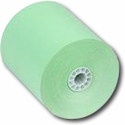"3 1/8"" x 230' Green Thermal Paper (50 Rolls)"