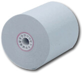 "3"" x 150'  (76mm x 46m)  1-Ply Bond Paper  (50 rolls/case) - Light Blue"