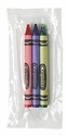 3ct Crayola Cello Crayon Pack (240 packs/case) - 52-0775