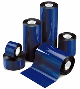 "4.33"" x 242'  Value Standard Half Inch Wax Ribbons;  0.5"" core;  36 rolls/carton"