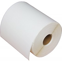 "4"" x 1"" Die Cut Premium Matte Paper Inkjet Labels for the Epson C7500 (2 rolls)"