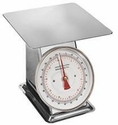 44 lb. Flat Top Food Scale (Stainless Steel)
