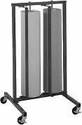 """48"""" Double Roll Vertical Paper Rack"""