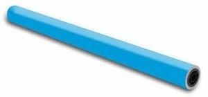 """48"""" x 100' - Flameless Flame Retardant Paper (1 Roll) - Electric Blue"""