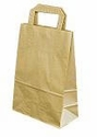 "70# Brown Handle (12""x7""x17"") Paper Bags (300ct)"