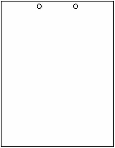 "8 1/2"" x 11"" - 20# 2-Hole Punch Top Paper (2,500 sheets/carton) - Health Care Format"
