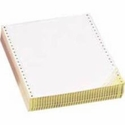 "8 1/2"" x 11"" - 20# 3-Part Continuous PinFeed (1,670 sheets per color, 5,010 total sheets) - White / Canary / Pink"