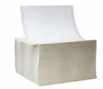 "8"" x 16.875"" Die Cut 5 Mil White Matte Inkjet Labels (Sheets)"