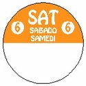 814261FG 1 Inch Circle-Saturday-Trilingual-REMOVX