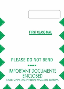 "9"" X 12-1/2"" Jumbo Self-Seal Claim Form CMS1500 Envelope (500 envelopes/case) - No Imprint"