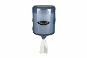 Adjustable Centerpull Towel Dispenser - Arctic Blue