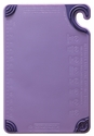 Allergen Saf-T-Zone� Cutting Board w/Saf-T-Grip - Purple