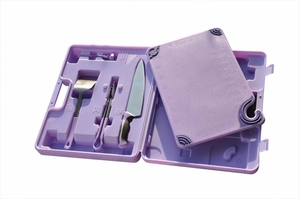 Allergen Saf-T-Zone System (Case, Tongs, Turner, Knife & Cutting Board)