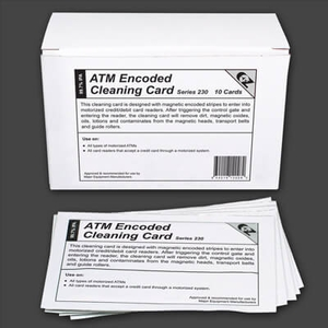 ATM Encoded Cleaning Card (10 / Box)