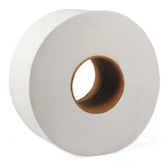 Boardwalk 2 ply Jumbo Toilet Paper Rolls (1,000 ft/roll) (12 Rolls)