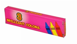 Boxed 3-Pack Crayons Premium Quality (400 Packs)