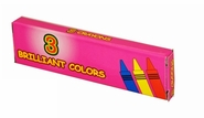 Boxed 3 Pack Crayons Premium Quality (400 Packs)