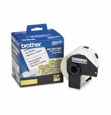 BROTHER INT L (SUPPLIES) DK-1209 SM ADDRESS PAPER LABEL 1.1 X 2.4IN QL-500/QL-550 800-LABL