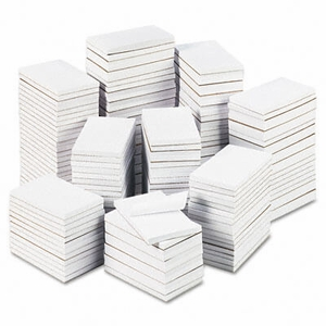 Bulk Scratch Pads, Unruled, 3 x 5, White, 180 100-Sheet Pads/Carton