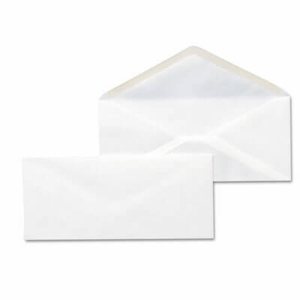 Business Envelope, V-Flap, #10, White, 500/Box