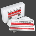 Canon CR-25, CR-55 and CR-180 Check Transport Cleaning Card (15 / Box)