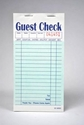 2-Part Green Carbon-Backed Guest Checks (2,500 Checks) - G6000