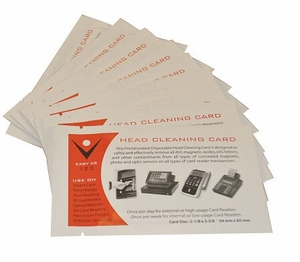 Card Reader Cleaning Swipe Cards (10 Cards)