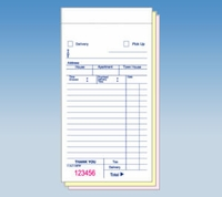 Carry Out & Delivery Forms