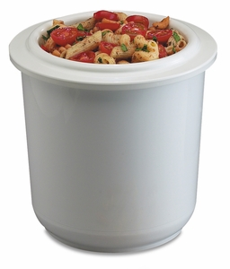 Chill-It 2 Qt Crock - White