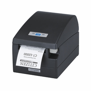 Citizen CT-S2000, Thermal POS Printer, 80mm, 220 mm/Sec, 42 col, USB, Internal Power Supply, Black