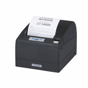 Citizen CT-S4000, Thermal POS Printer, 112mm, 150 mm/Sec, 69 col, Ethernet & USB, Label Cyber