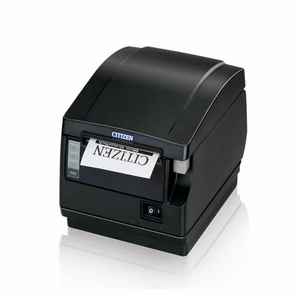 Citizen CT-S651, Thermal POS Printer, 200mm, Powered USB, Black, PNE, Front Exit