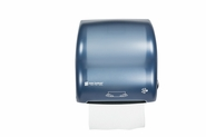 Compact Simplicity Towel Dispenser Hands-Free Mechanical Classic - Arctic Blue