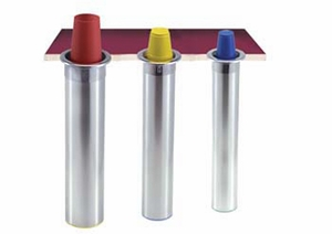 Counter-Mount Beverage Cup Dispensers