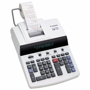 CP1200DII Two-Color Commercial Desktop Printing Calculator, Black/Red Print