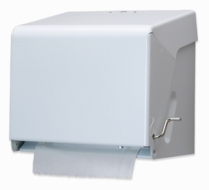 Crank Paper Towel Dispenser - White