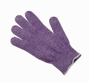 Cut Resistant Glove w/Dyneema - Level 5 - Purple