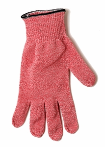 Cut Resistant Glove w/Dyneema - Level 5 - Red